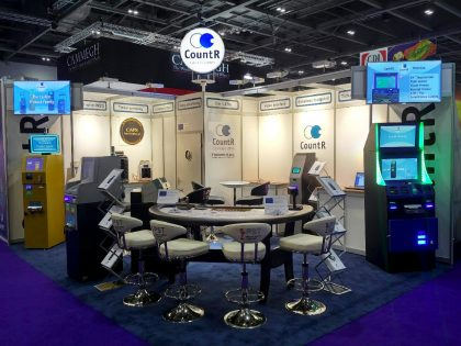 Countr ICE booth